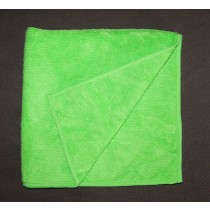 Micro Fiber Plush Cloth, 1 Dozen Green #1616GR