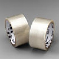"""3M369 Clear Packaging Tape 2""""x100m Roll #369"""
