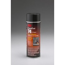 3M Foam Fast 74 Spray Adhesive, 24oz, #5032865