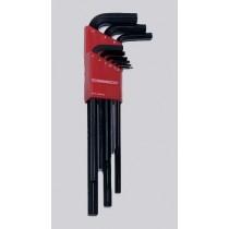 Metric 9pc Hex Key Set 1.5-10mm  #90091