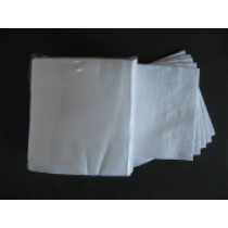 WIPE, White Crepe Spunlace,12x13, 50ct #931