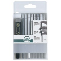 System 4 9pc Metric Nutdriver Blade Set #WH26998